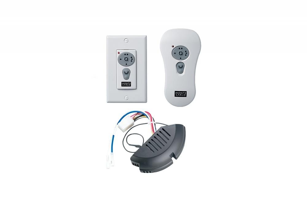 White Fan Wall Mount Control Model-CK300