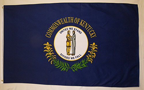 State of Kentucky Flag 3' X 5' Indoor Outdoor State Banner