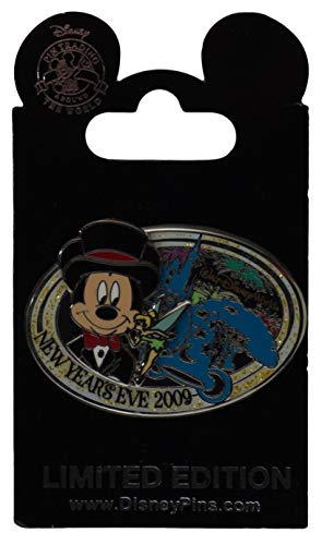 WDW Trading Pin - New Year's Eve 2009 - Mickey Mouse and Tinker Bell ()