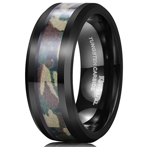 King Will Tungsten Camouflage Polished