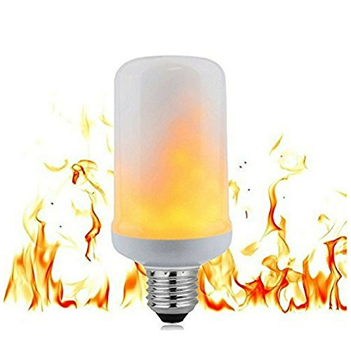 ViziLit Flame Bulb LED and Flicker Flame Light Bulb - Top Rated LED Flame Light Bulb, Best LED Flame Effect Bulb, Indoor Outdoor Flickering Flame Light Bulb, LED Flicker Flame Bulb by (Cost Pit Fire)