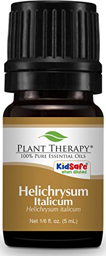 Plant Therapy Helichrysum Italicum Essential Oil | 100% Pure, Undiluted, Natural Aromatherapy, Therapeutic Grade | 5 milliliter (1/6 ounce)