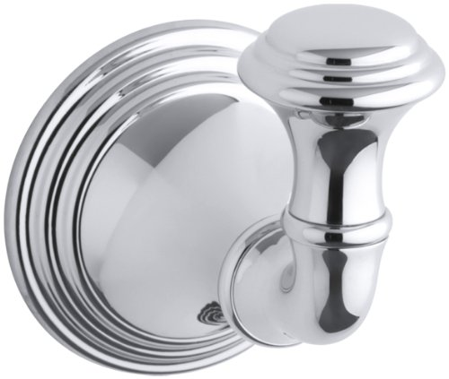 KOHLER K-10555-CP Devonshire Robe Hook, Polished Chrome