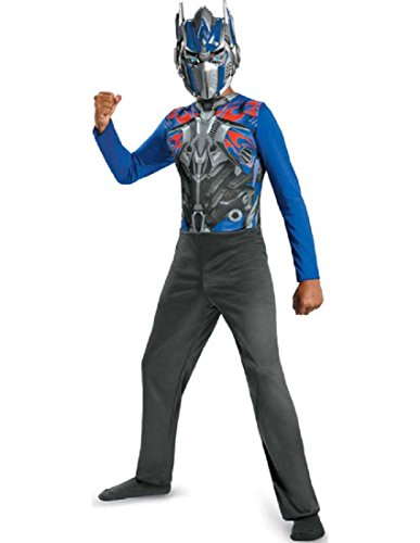 [Transformers Optimus Prime Basic Child Costume] (Tv Movie Childrens Costumes)