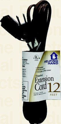 UPC 070792851098, Helping Hand FQ85109 Extension Cord, 12'