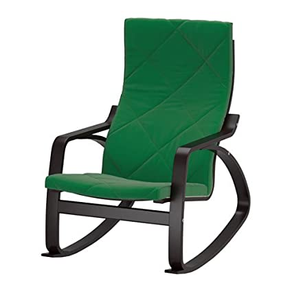 Wondrous Amazon Com Ikea Rocking Chair Black Brown Sandbacka Green Gmtry Best Dining Table And Chair Ideas Images Gmtryco