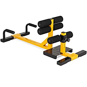 Goplus-3-in-1-Multifunctional-Squat-Machine-Deep-Sissy-Squat-Leg-Exercise-Squat-for-Home-Gym-Fitness-Equipment