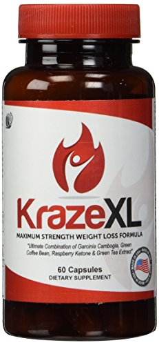 BEST-Fat-Burner-Metabolism-Booster-Appetite-Suppressant-Energy-Enhancer-Ultimate-Weight-Loss-Thermogenic-Supplement-For-Men-Women-30-Day-Supply-of-KrazeXL