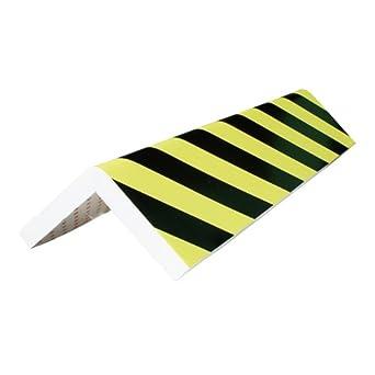 Viso PU4015NJ Foam Angle Protection Bumper Black and Yellow