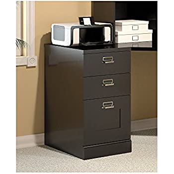 Marvelous Stockport 3 Drawer File Cabinet In Classic Black