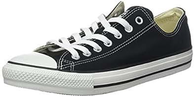 Converse Unisex Chuck Taylor All Star Low Top Black Sneakers - 12 B(M) US Women / 10 D(M) US Men