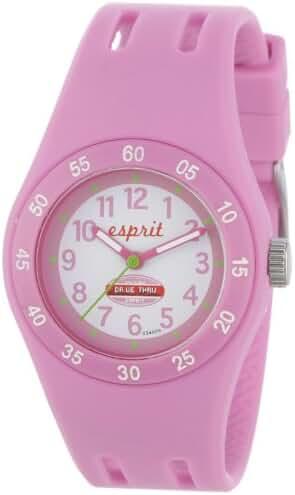 Esprit Kids' ES103464006 Fun Racer Pink Rubber Watch