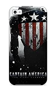 TYH - First-class Case Cover For Iphone 6 4.7 Dual Protection Cover Captain America 1542169K11918790 phone case