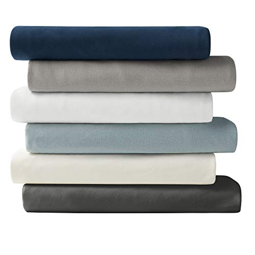Brielle Cotton Jersey Knit (T-Shirt) Sheet Set, Queen, Bright White