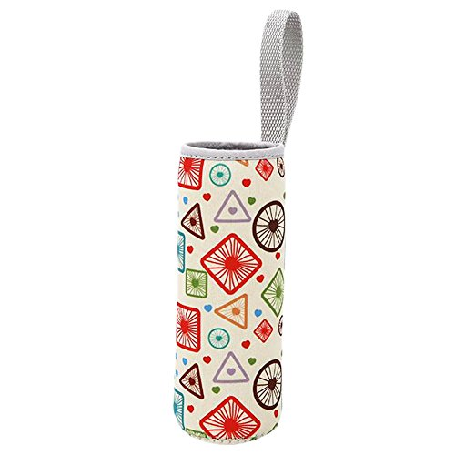 Geometry Bottle Protector Creative Insulation Cup Portable Cover