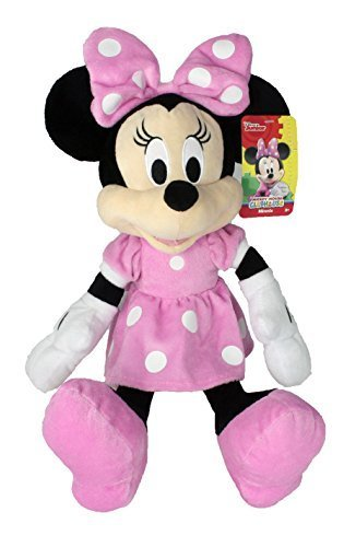 Minnie Mouse Plush - Minnie 10782 Kids plush toy, Pink, 15.5