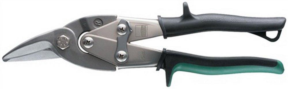 Figurenschere li. L.240mm VA 1, 2mm ERDI Stahl 1, 8mm
