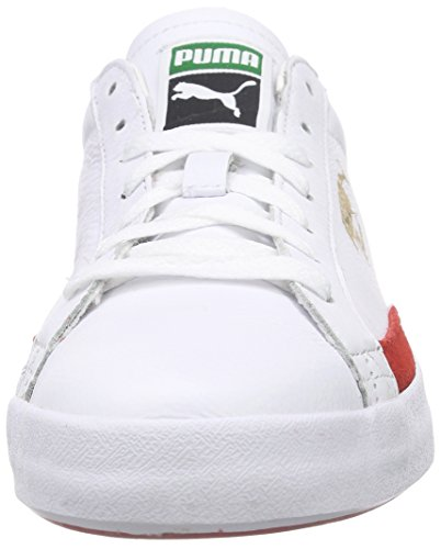 Risk Match Puma Red Bianco Adulto 18 Vulc White Unisex Weiß Basso high wBwqdAxUz