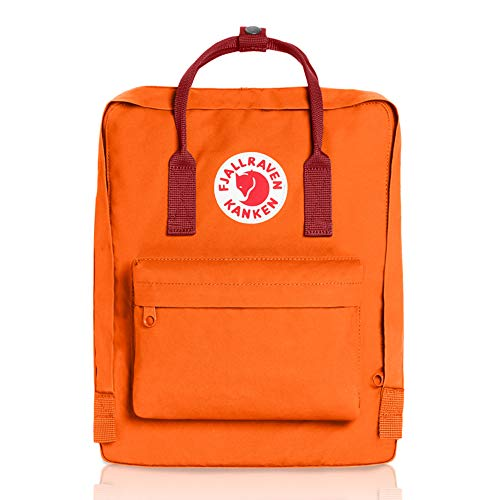 Fjallraven - Kanken Classic Pack, Heritage and Responsibility Since 1960, One Size,Burnt Orange/Deep Red by Fjallraven (Image #1)