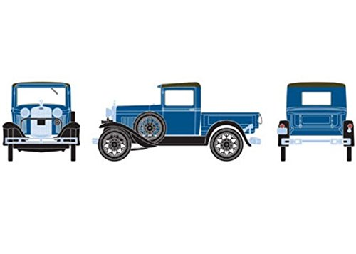 Athearn HO RTR Model A Pickup, Blue Athearn Ho Model Trains