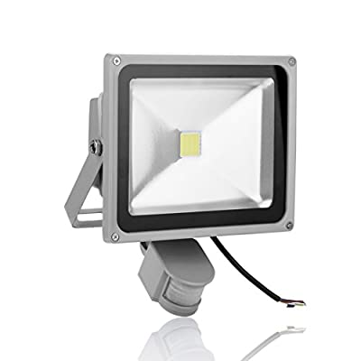Generic 30W Cool White Waterproof LED Motion Activated PIR Sensor Security Flood Light