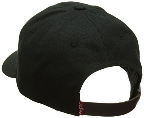Casquette Embroidered Updated Black Homme Baseball Batwing Levi's Noir noir Cap Regular AZqfSXn