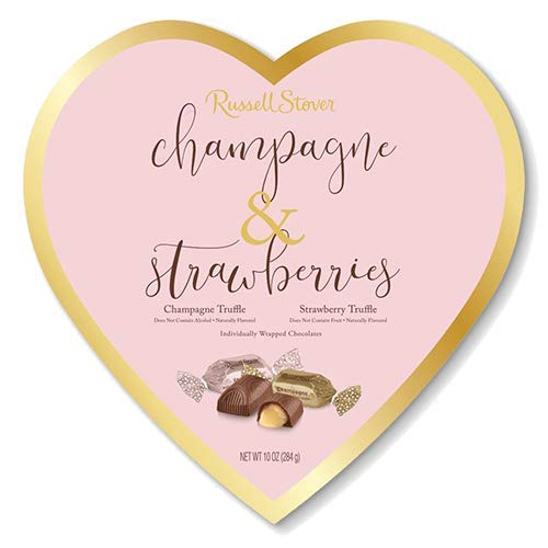Russell Stover Champagne & Strawberries Chocolate Truffles - 10 oz. ()