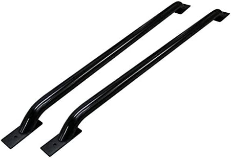 QMI BC2703DP-Bed Rail Caps Compatible with Ford F-Series Short Bed Truck Diamond Treadbright Polished Aluminum Set of 2