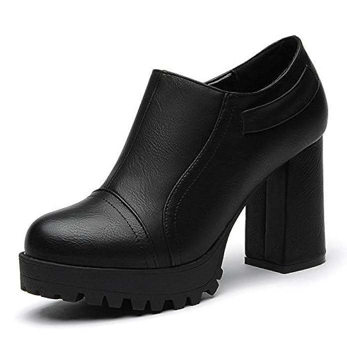Tacchi Alti Ladies scarpe Col Tacco Grosso scarpe Alto Piattaforma