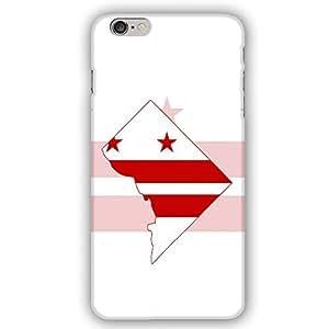 Washington D.C. District Flag iPhone 6 Plus Slim Phone Case