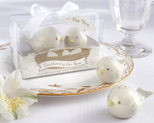 (Feathering the Nest Ceramic Birds Salt and Pepper Shakers [SET OF 24])