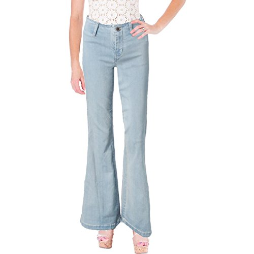 Ultra Low Rise Flare Jeans - 9