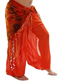 Bellydancer Chiffon Harem Pants with Side Slits   Maiden Dance