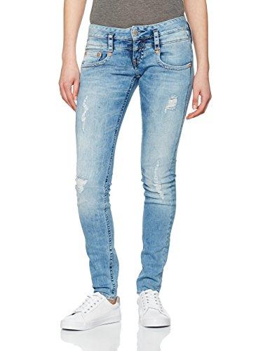 Jeans fog Herrlicher Pitch Slim Donna 082 Blu 7xAZOw