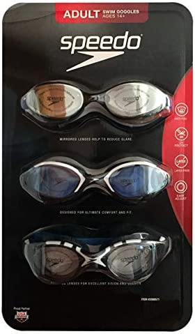 Speedo Pack Adult Swimming Goggles product image