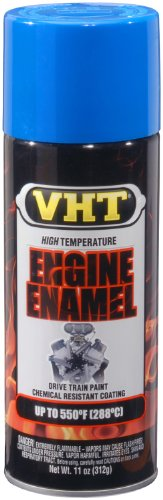 - VHT SP134 Engine Enamel Ford Light Blue Can - 11 oz.