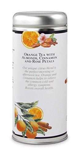 Orange Almond Tea: All-Natural, Gluten Free, 24 servings | PrestoMall -  Green Tea & Others