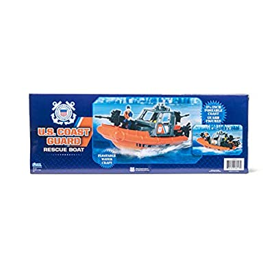 United States Coast Guard Rescue Boat Playset: Toys & Games