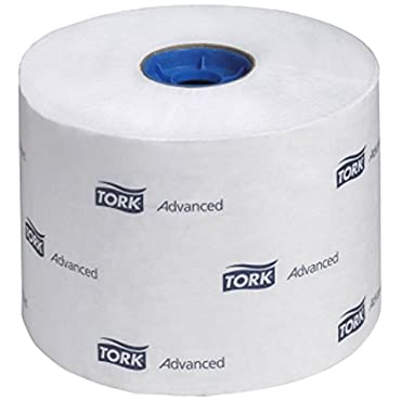 Tork 110292A Advanced High-Capacity 2-Ply Toilet Tissue Roll, White