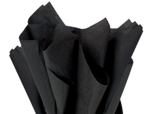 Brand New Black Bulk Tissue Paper 15 x 20-100 Sheets premium quality tissue paper A1 bakery supplies