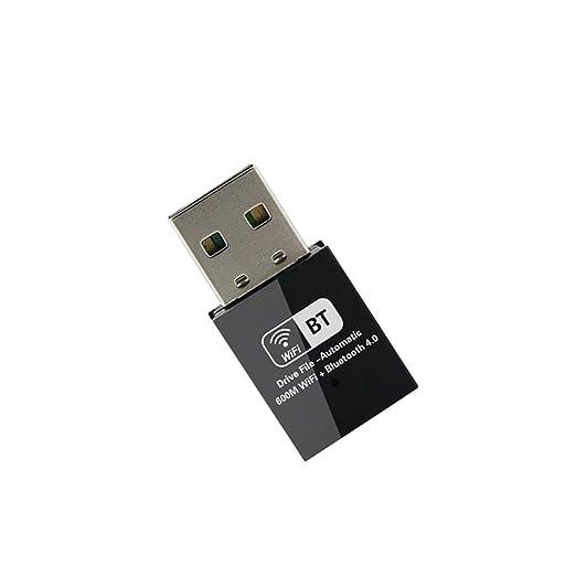 QYLT Adaptador de Tarjeta WiFi 600Mbps con Bluetooth 4.0 ...