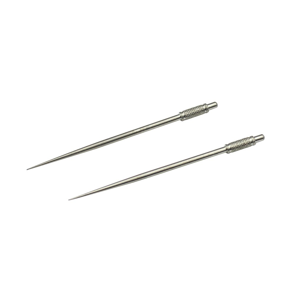 Just-Ti Titanium Toothpick Outdoor Camping Picnic Dinner Party Survival EDC Tool (Pack of 2)