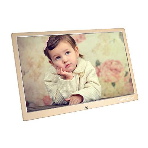 13.3 Inch Digital Photo Frame- Metal Electronic Picture Frame with 1366×768 High Resolution Display & Remote Controller Support SD/MMC/MS Card/USB Port For Sale
