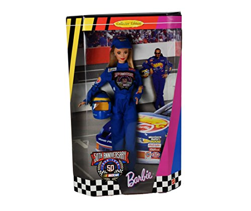 BARBIE NASCAR 50th Anniversary DOLL Collector Edition (1998)