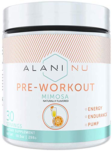 Alani Nu Pre Workout Powder w/Caffeine, L-Theanine & Beta Alanine, Mimosa, 30 Servings … by Alani Nu (Image #3)