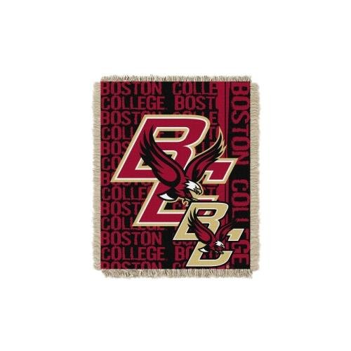 The Northwest Company Boston College Eagles NCAA Triple Woven Jacquard Throw (Double Play Series) (48x60) (2-Pack)