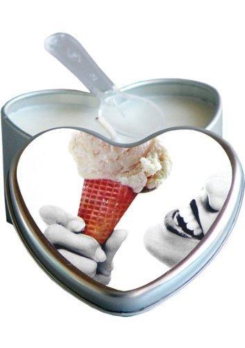 - Edible Heart Candles Vanilla