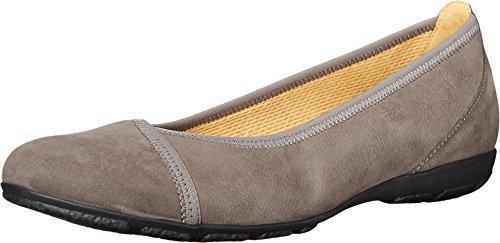 Gabor Womens Gabor 34.160 Grey Nubuk Lavato Flat UK 8.5 (US Womens 11) B (M) VaV7G0dz