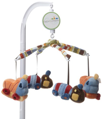 CoCo & Company Musical Mobile, Road Work (Discontinued by Manufacturer) (Cocalo Crib Mobile)