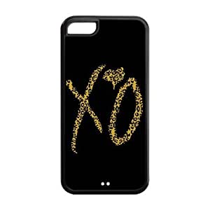 Danny Store Hard Rubber Protection Cover Case for ipod touch 4 touch 4 - The Weeknd XO